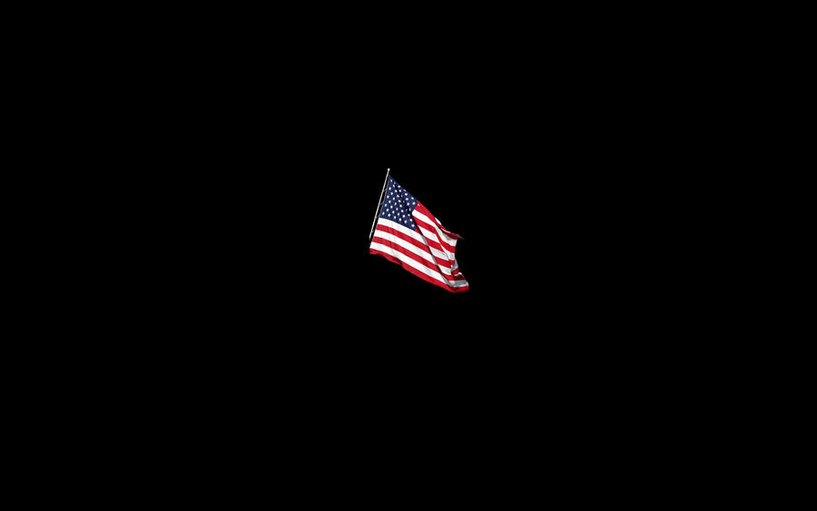 Sadohydroe Faded American Flag Background