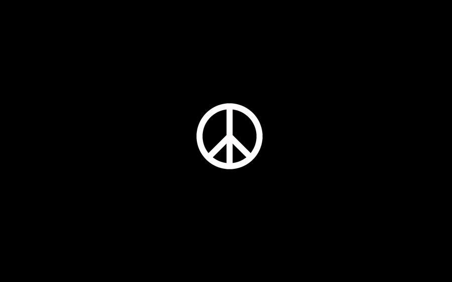 Peace Symbol Wallpaper By Padguy On Deviantart