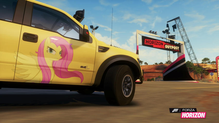 Forza Horizon (Day one red rock outpost) by doomhammer22