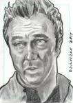 Stargate Atlantis Sketch Card Dr Carson Beckett by JonDjulvezan