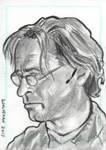 Stargate Atlantis Sketch Card  Dr Radek Zelenka by JonDjulvezan