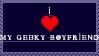 I love my geeky bf stamp by WargusEstor