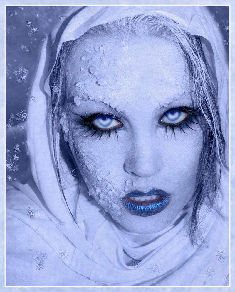 Frozen Ice Snow Queen White Winter Make Ideas