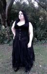 Me in a posh dress :P