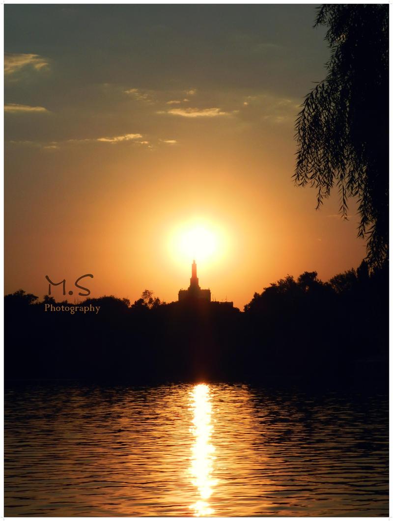 Sunset by moonik9