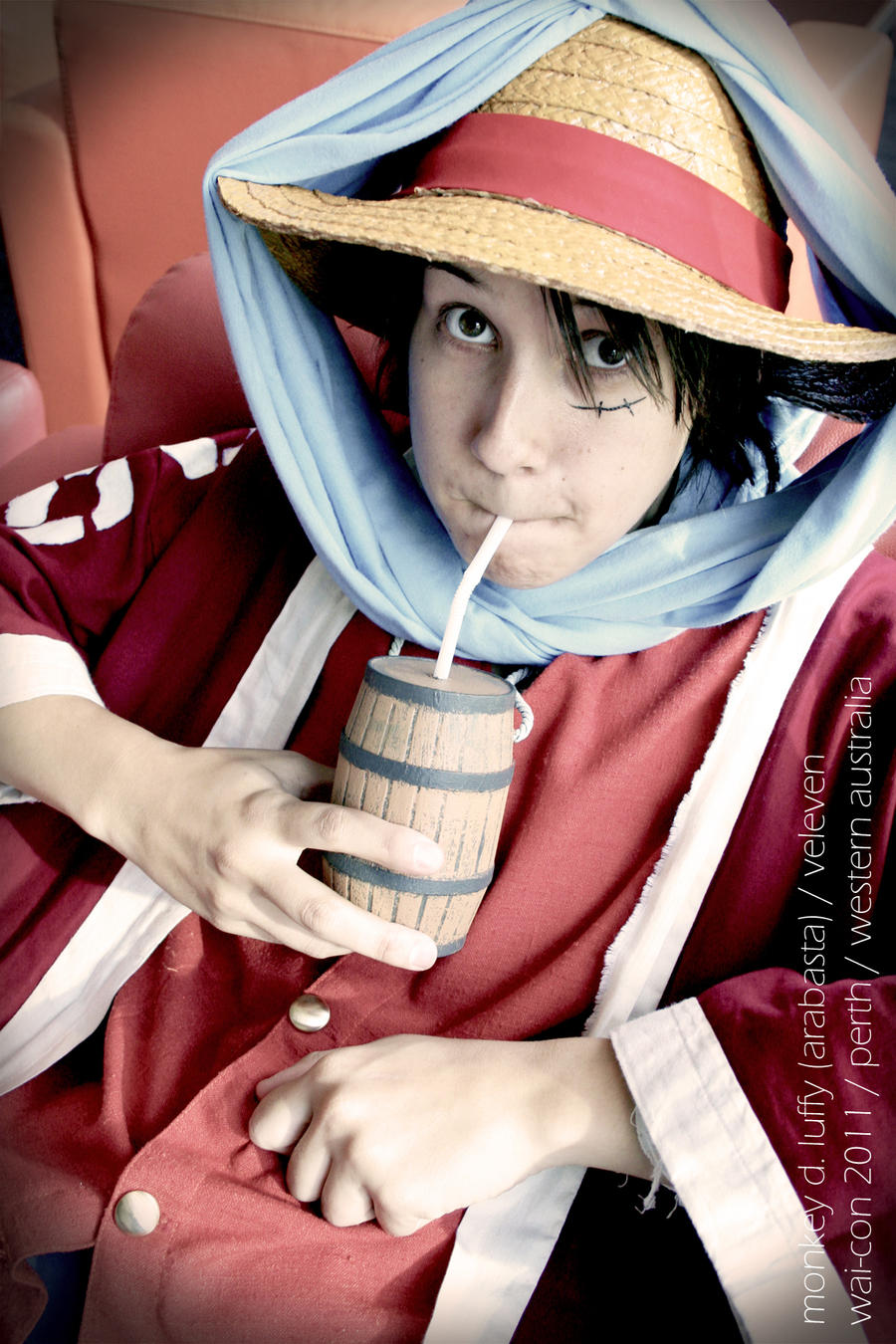OP - luffy and yuba barrel by Veleven