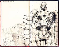 japan - laputa robot (jiburi de) by Veleven