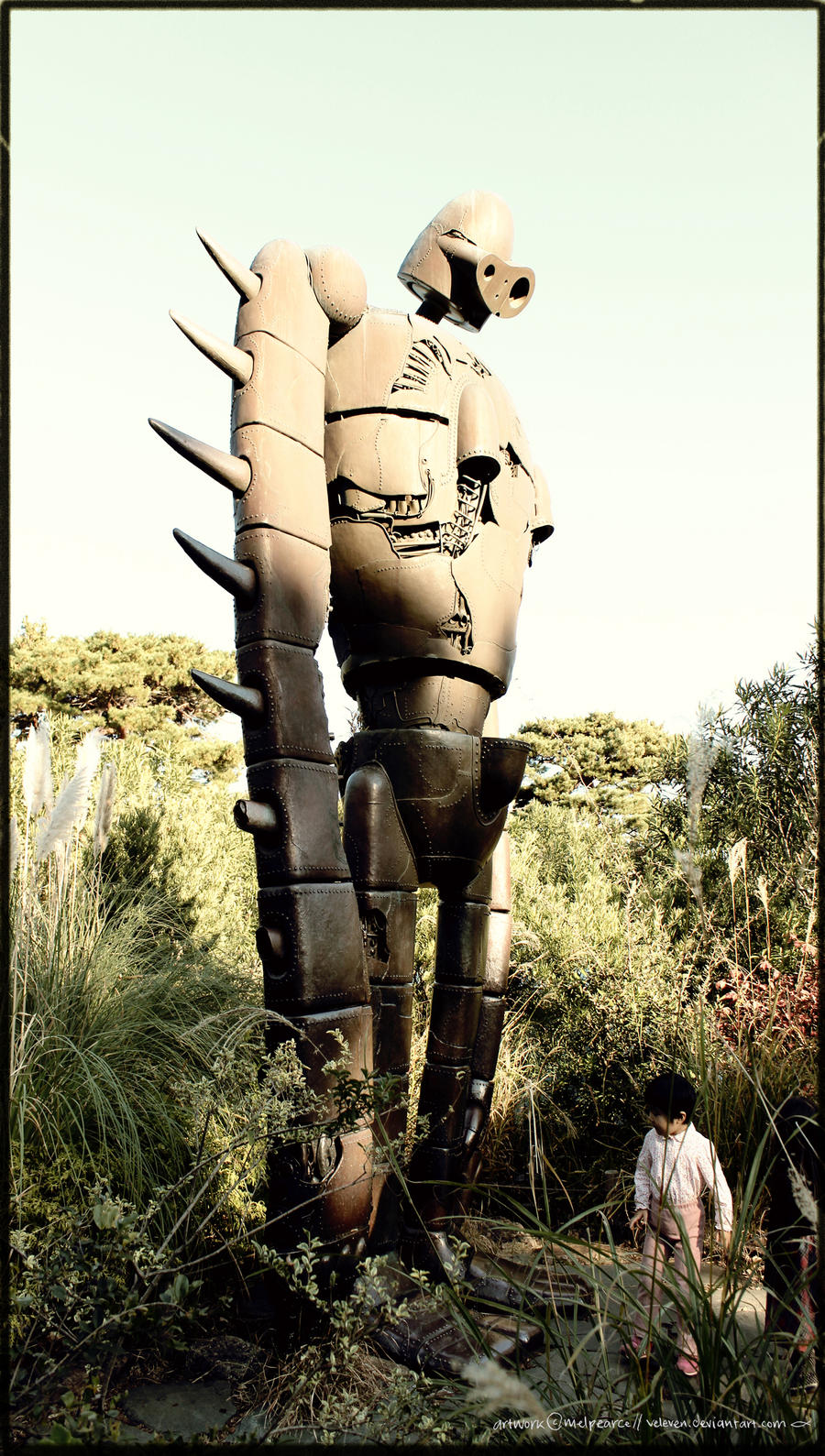japan - laputa robot (photo) by Veleven