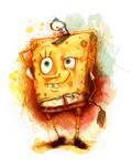 SpongeBob in Watercolour
