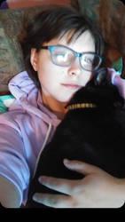 Me and Judy Bat Cat