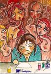 ATC Nine Ancestral Muses