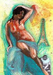 Summer in Paris by EraserQueenStudio