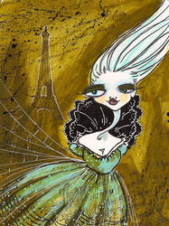 Paris Doll by EraserQueenStudio