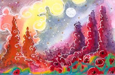 moonGarden by EraserQueenStudio