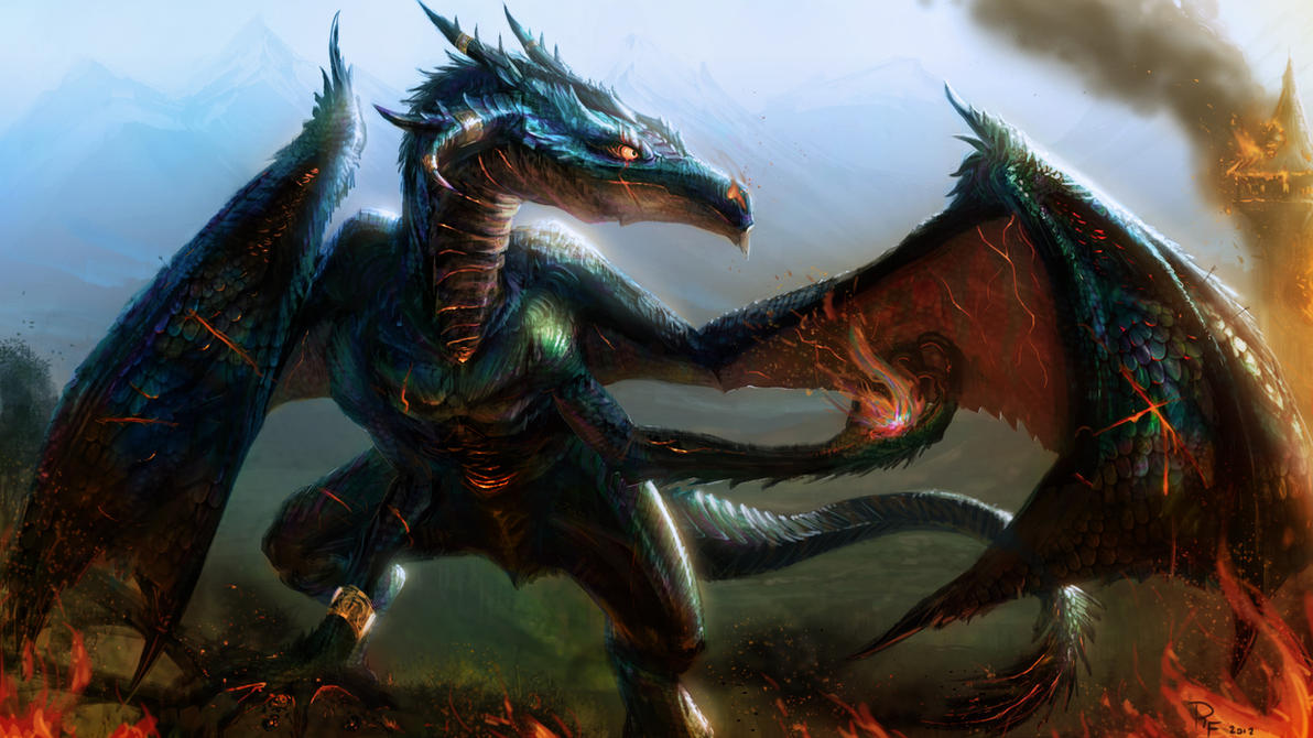 Ortosis Fire Dragon by 1Rich1