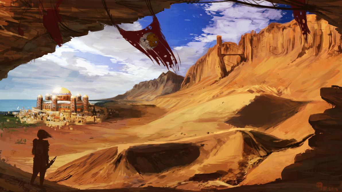 Hammerfell Sentinel by 1Rich1