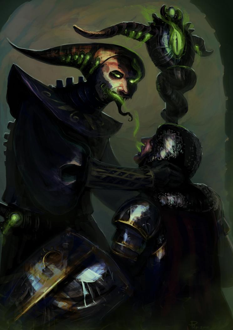 The Warlock by 1Rich1