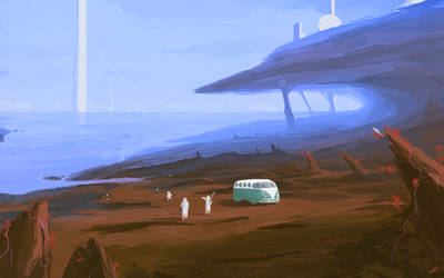 The Space Picnic by 1Rich1
