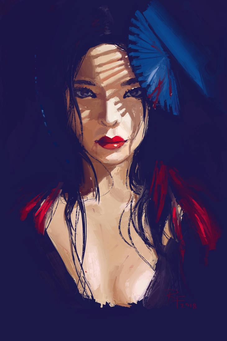 Portrait practice by 1Rich1