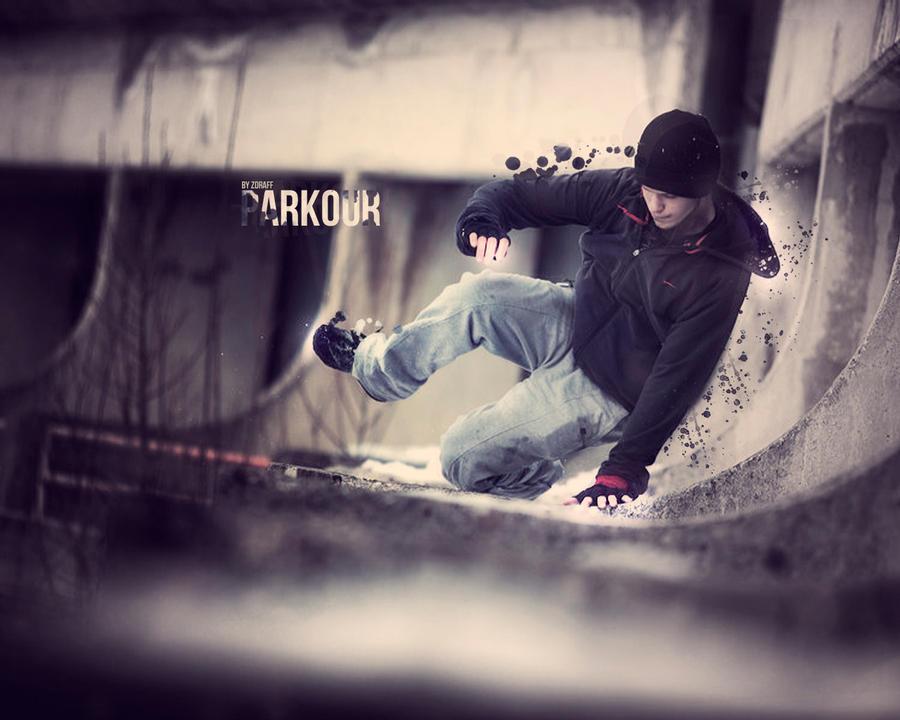 Parkour Wall By LZdraffl