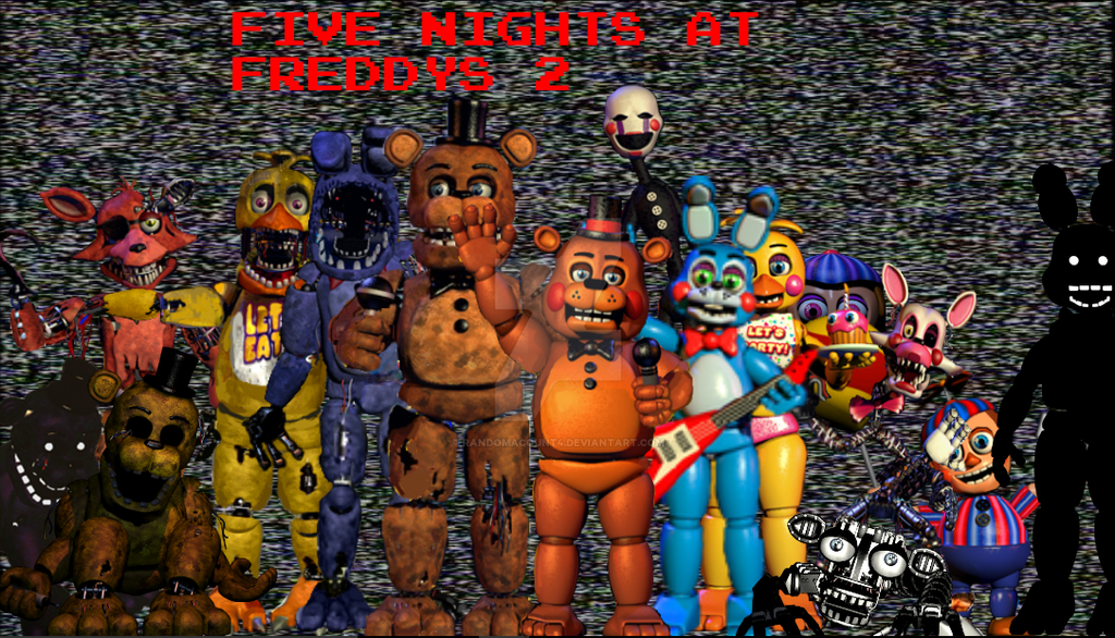 Five nights at freddy s 2 poster by randomacount4 on deviantart