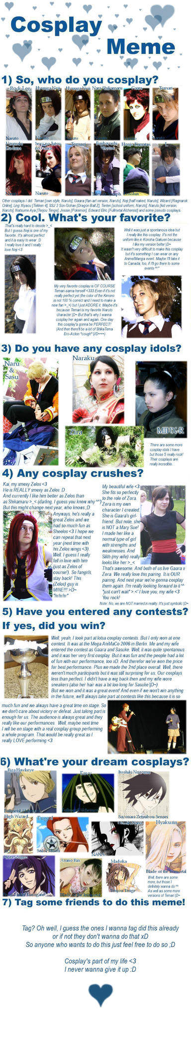 Cosplay Meme by KikoBuntstift