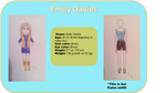 [New bio] Emily Davies Ref by ComanderSprings
