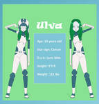 Ulva's Ref + WIP bio in description by ComanderSprings