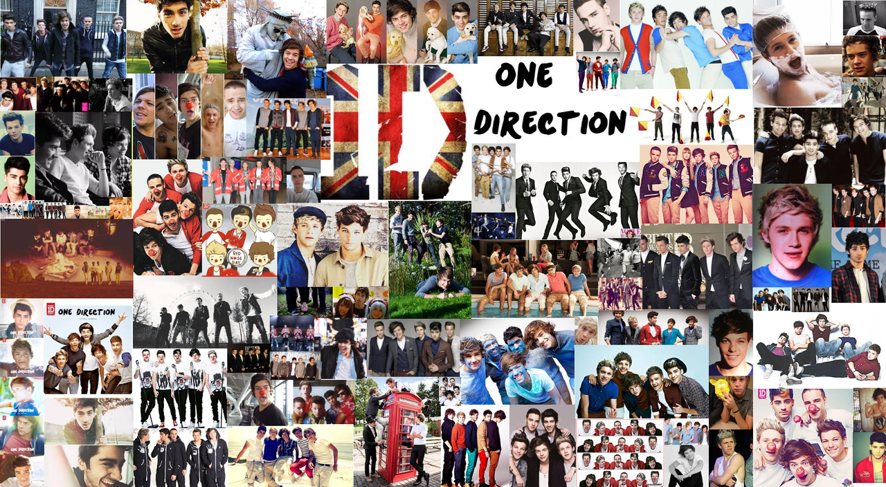One Direction Wallpaper by xXDarkDeviousDevilXx on DeviantArtOne Direction 2013 Collage Wallpaper