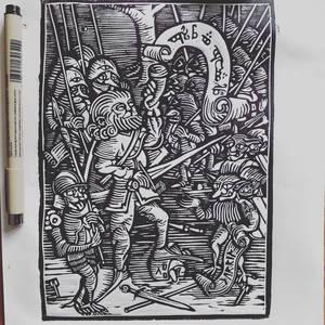 Boromir on Amon Hen