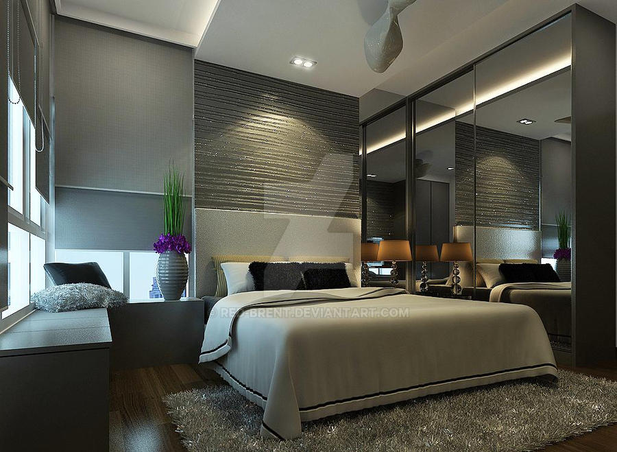 Silver Master Bedroom View 1 By Red Brent On Deviantart