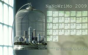 NaNoWriMo Calendar 2009 by tacos4me