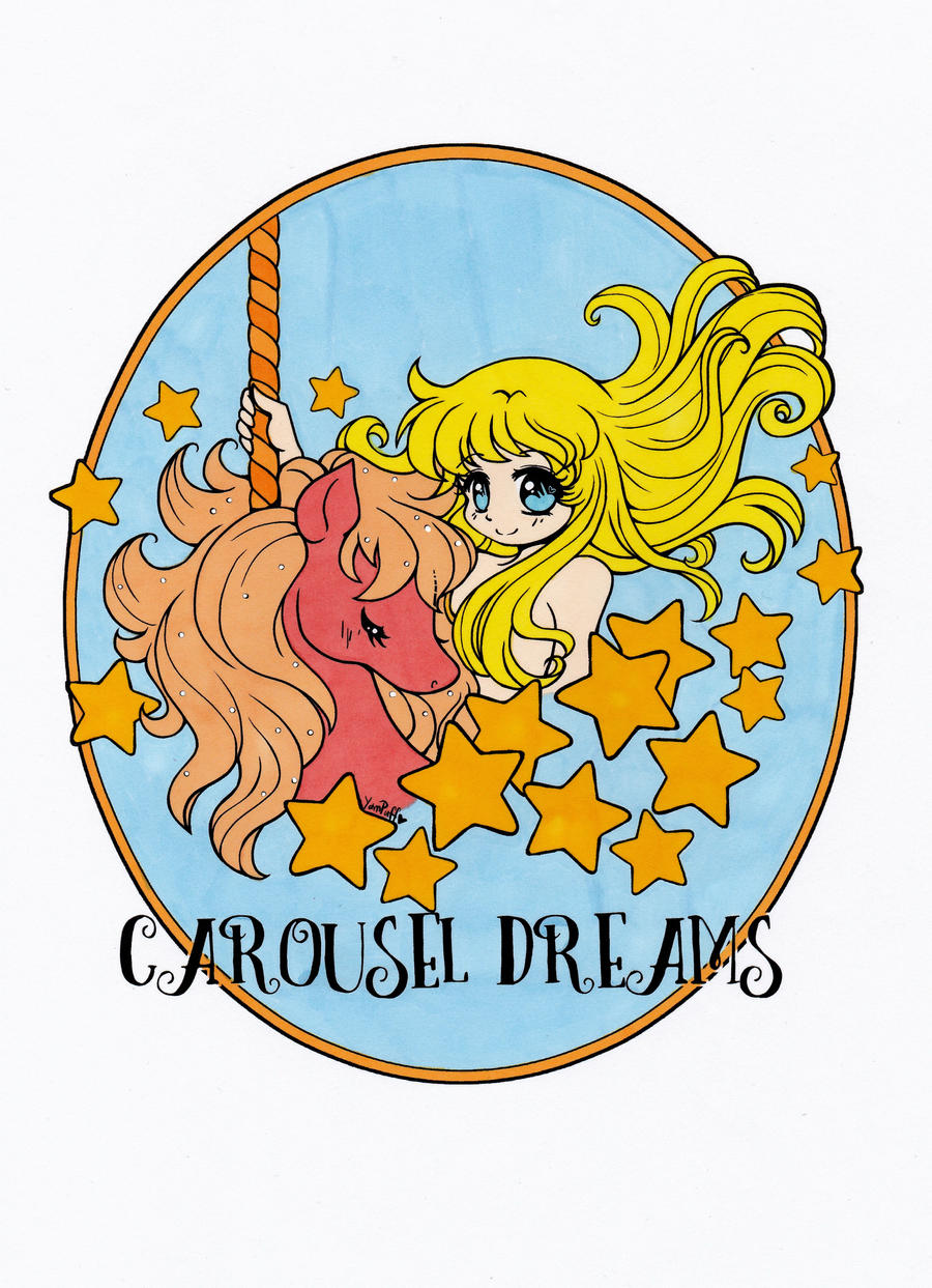 carousel dreams a coloring book page 1 by maiko on deviantart