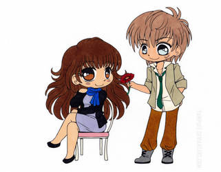Ren Shibasaki Colored by Maiko-Girl