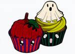 Desserties - Halloween Cupcakes Colored