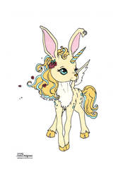 Cute Creature Colored by Maiko-Girl