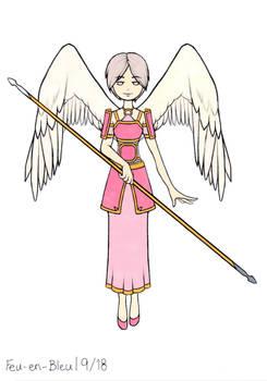 Cute Angel Colored