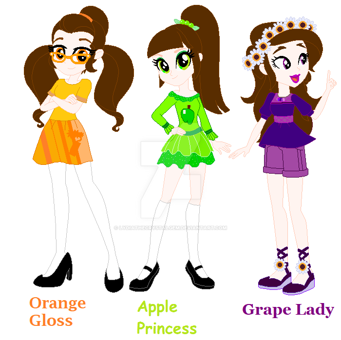 Three Berry Sisters by Lydiathecrystalgem