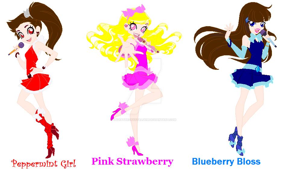Three Berry Friends by Lydiathecrystalgem