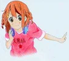 Yui Hirasawa by MagdaMilo