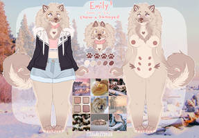 Emily Reference 2018 by s-trawberrymilk