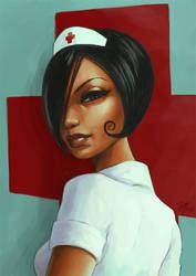 Naughtyish Nurse by minix