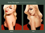 Draw this Again: Red Carpet Glamour by minix