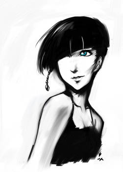 random character sketch?
