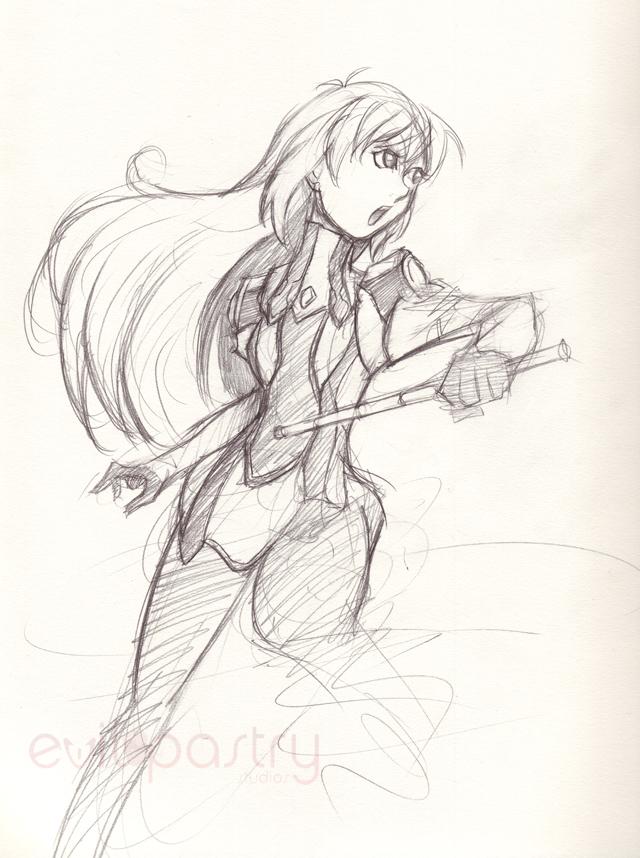 Elly sketch by gts
