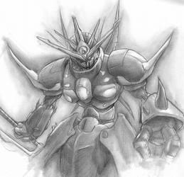 warrior mech