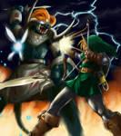 Link VS  Ganon final