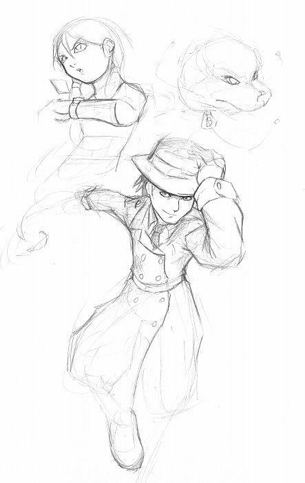 inspector gadget sketch by gts