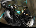 Cloud VS Sephiroth Final