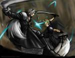 Cloud VS Sephiroth Final